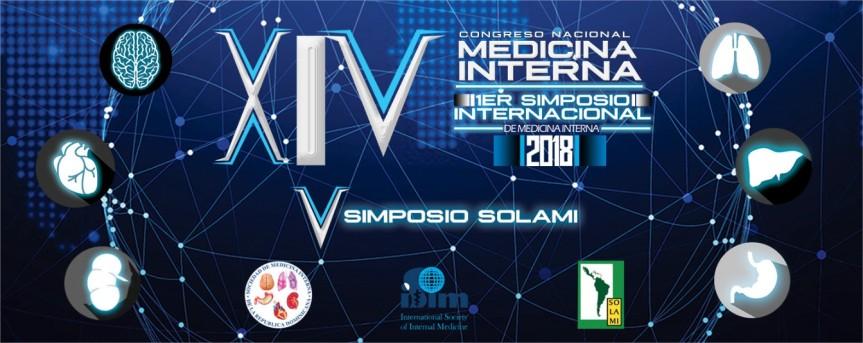 XIV Congreso Nacional de Medicina Interna – I Simposio Internacional – V Simposio SOLAMI – RepúblicaDominicana