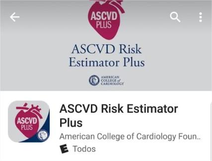 Riesgo cardiovascular – 2Aplicaciones