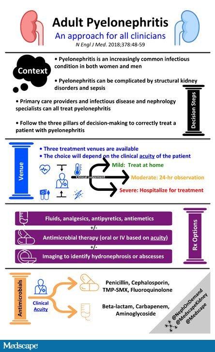 Pielonefritis aguda: un enfoque de tres pilares para losclínicos