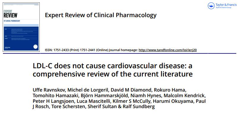 LDL-C no causa enfermedad cardiovascular: una revisión exhaustiva de la literaturaactual