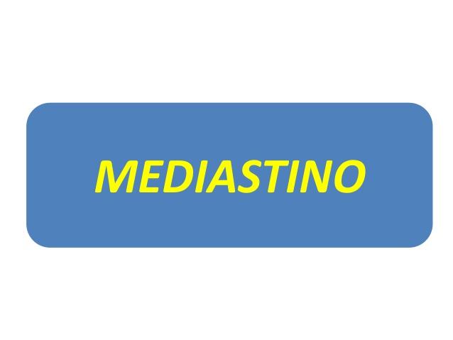 Masas mediastinales: Imagenes