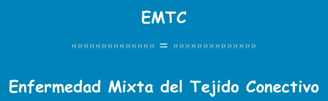 EMTC: Pronostico ytratamiento