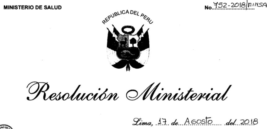Tuberculosis MINSA Perú2018