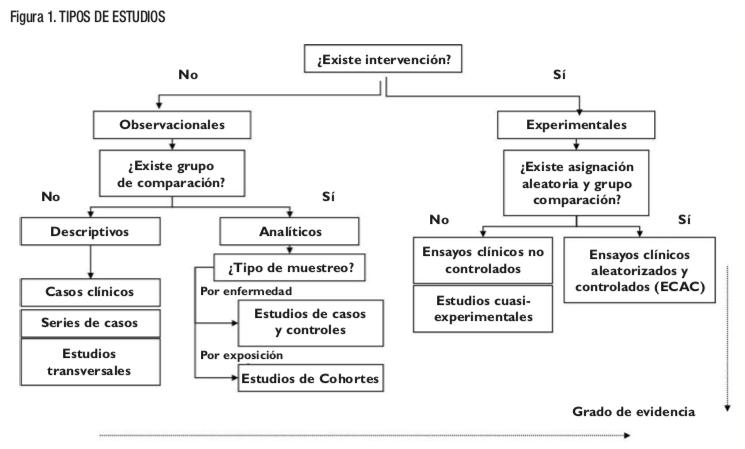 Tipos de estudios epidemiológicos: Preguntas