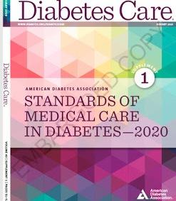 2020 estándares de atención diabetes