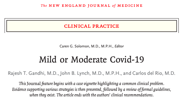 Covid-19 leve omoderado
