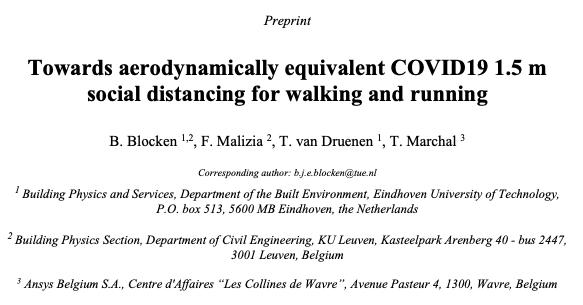 Coronavirus: distancia mínima de 4 metros al andar y de hasta 10corriendo