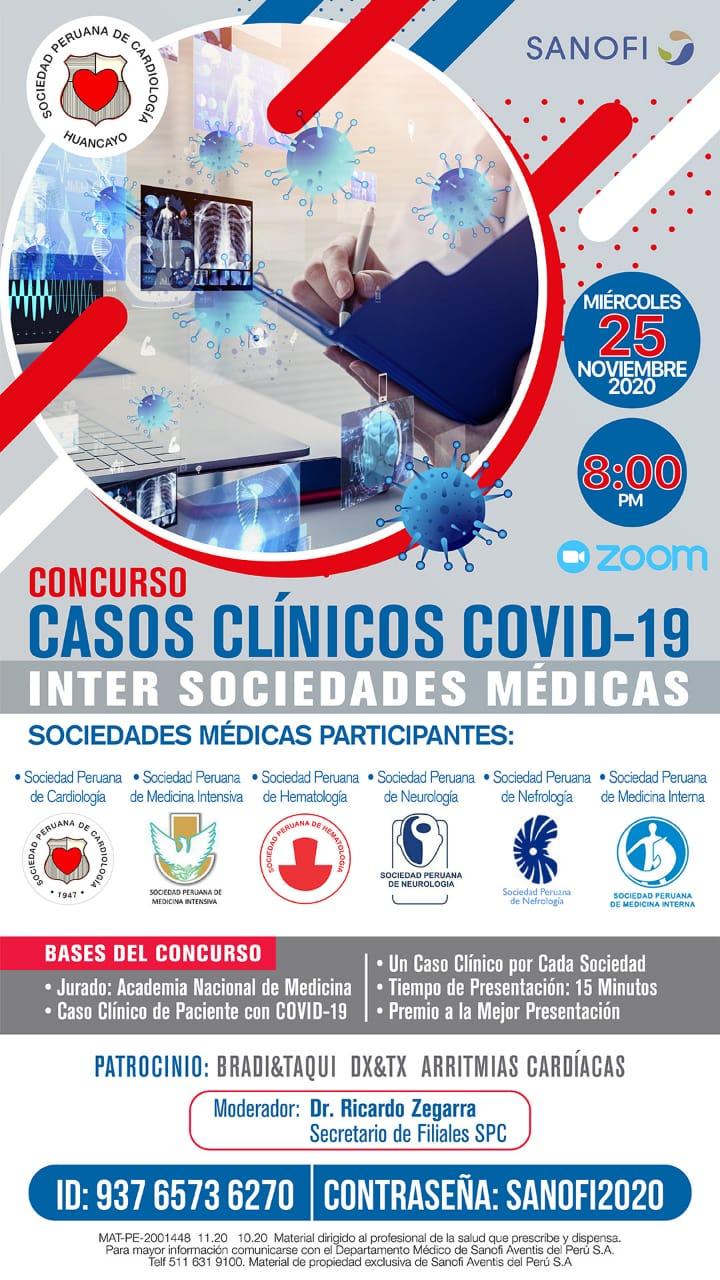 Casos Clínicos COVID-19 Inter SociedadesMédicas