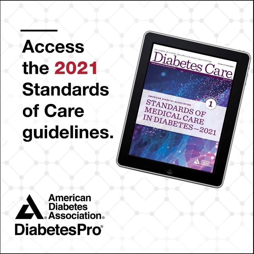 Guía de Diabetes ADA 2021: Cambiosgenerales