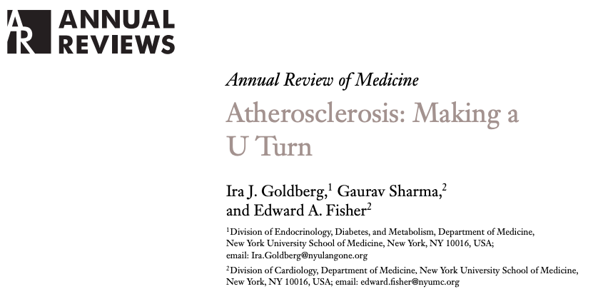 Aterosclerosis: dar la vuelta enU