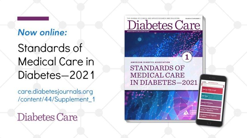 Guía de Diabetes ADA 2021: Resumen (PARTE3)