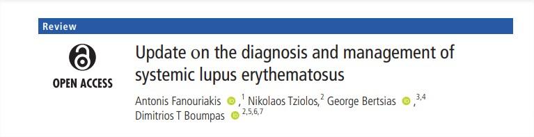 Actualización sobre el diagnóstico y manejo del lupus eritematososistémico